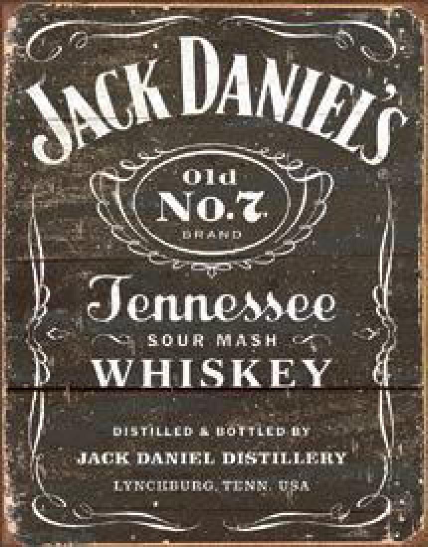 Jack Daniel's - Weathered Logo