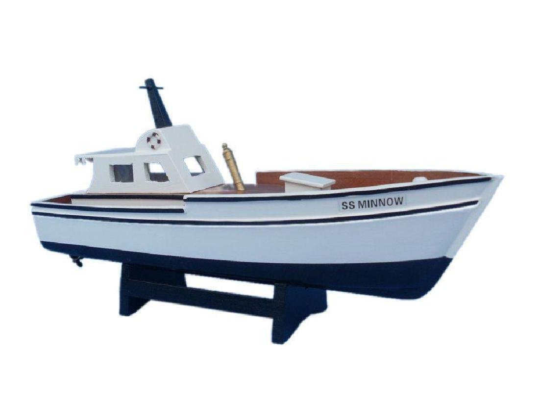 Wooden Gilligan's Island - Minnow Model Boat 14""