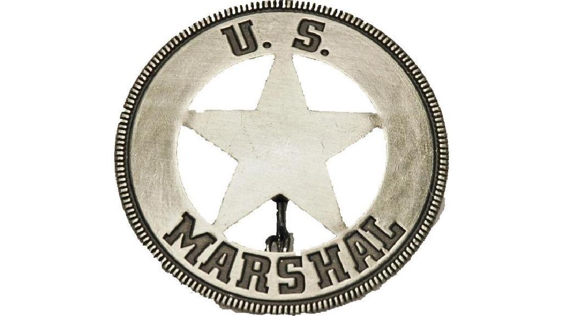 US Marshal Old West Replica Lawman Badge Deputy Sheriff