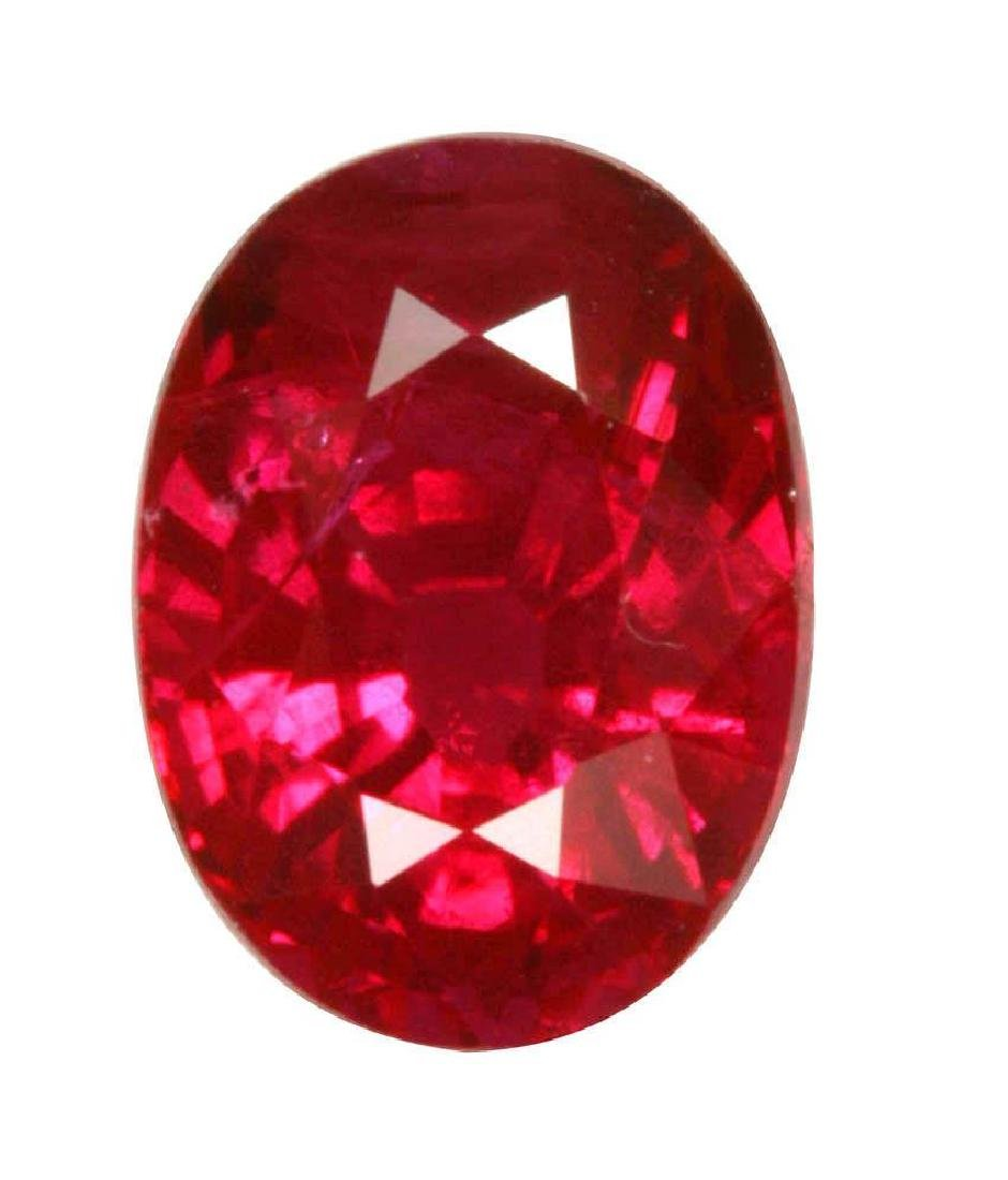 12.0 Carat Natural Burma Ruby Certified Gemstone Loose