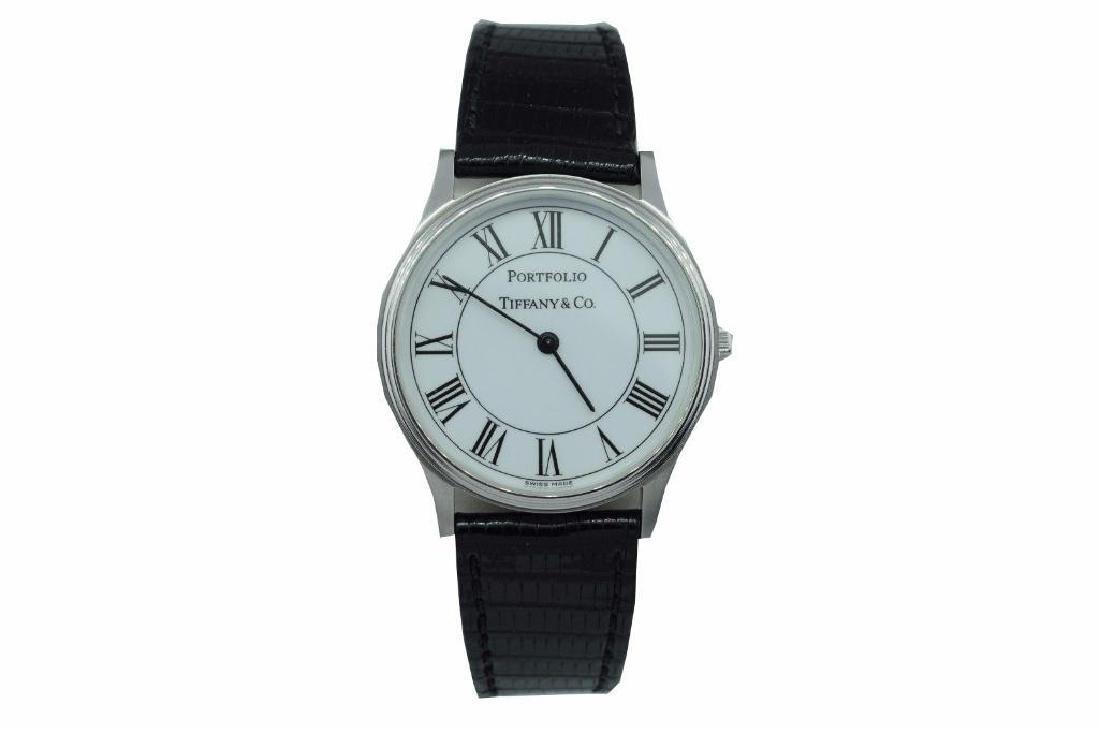 Tiffany & Co. Stainless Steel Portfolio Man's Watch