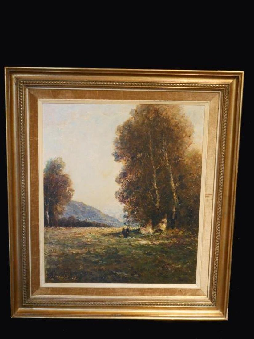 After Otto Strutzel, 20thc Landscape Oil Painting