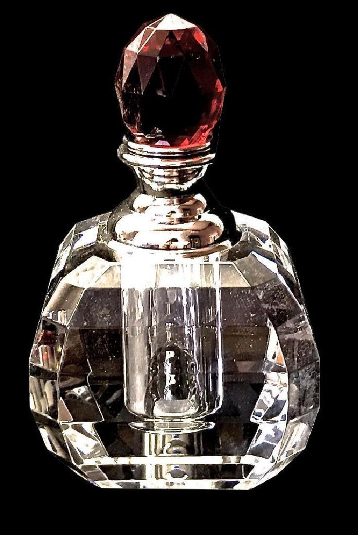 Perfume Bottles Full Cut 8013 Facet Lead Crystal