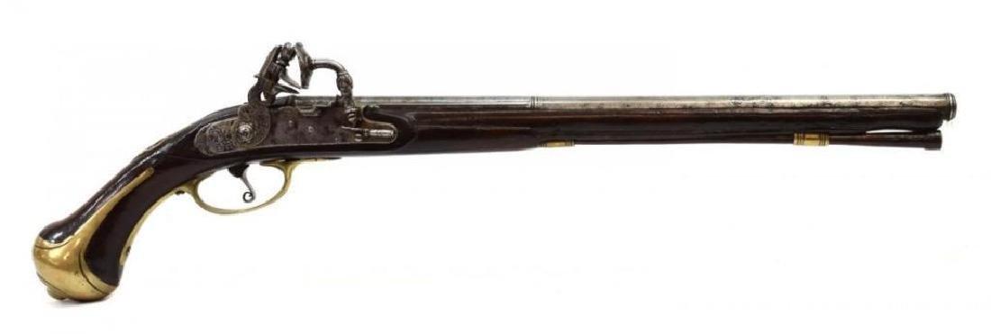 18thc Lazarino Cominazzo Flintock Pistol