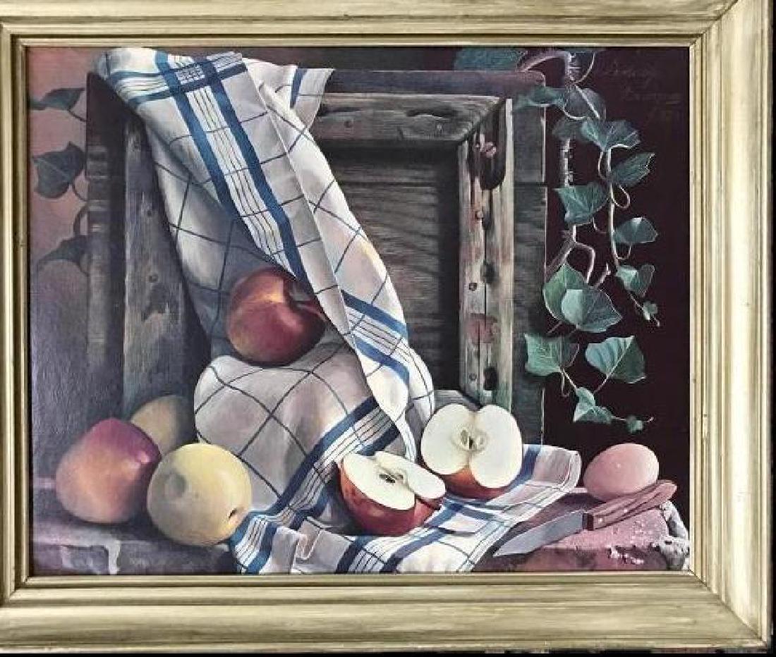 After Bruckman, Fruit Still Life Mechanical Print