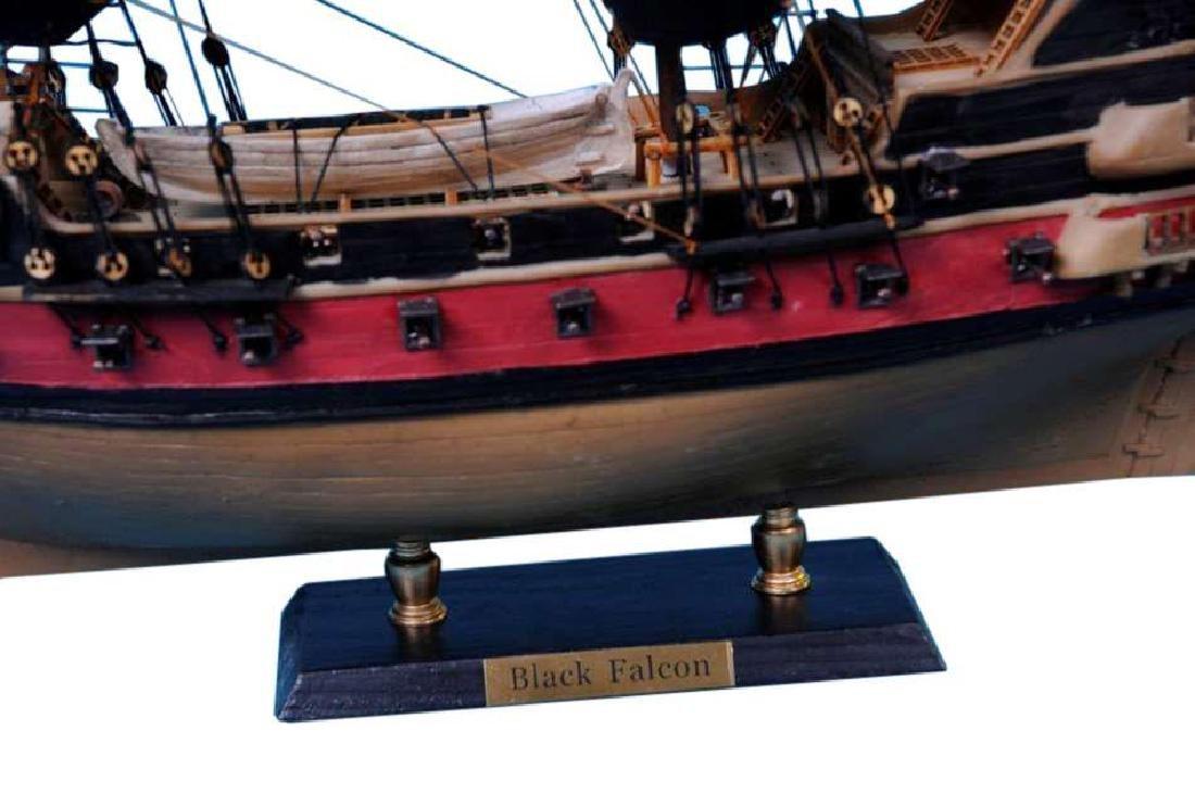 Captain Kidds Black Falcon Limited Model Pirate Ship