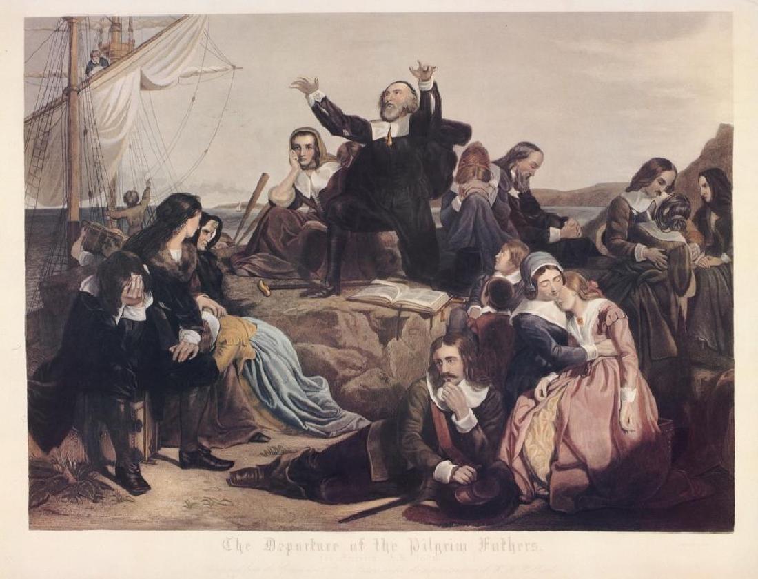 Machine Print, Pilgrim Fathers