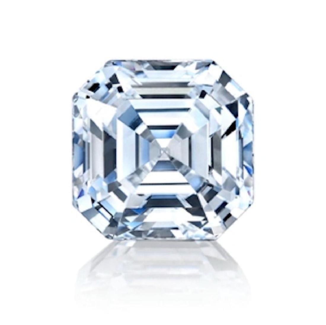 4.12 ct Asscher cut BIANCO Diamond
