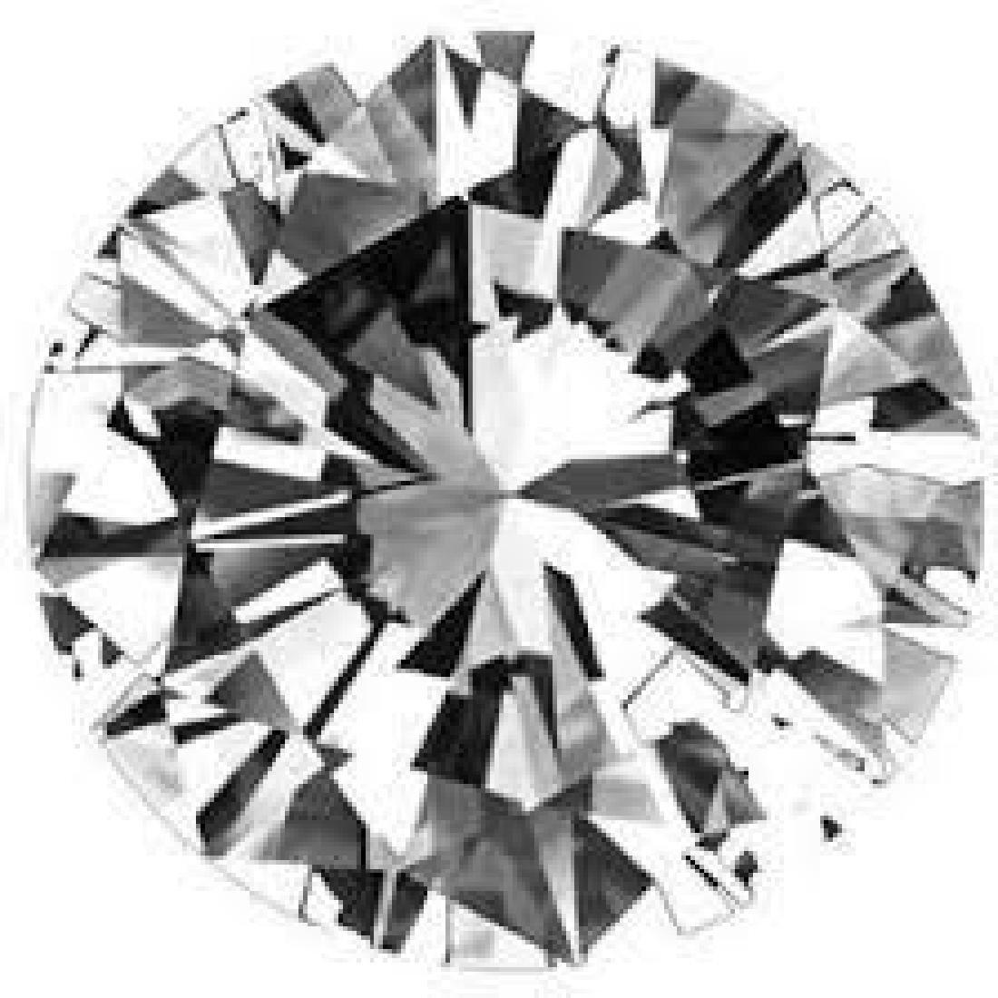 Round 0.9 Ct. Bianco Diamond.