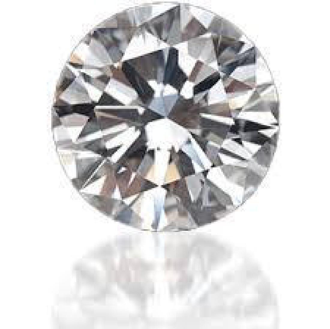 Round 0.9 Ct. Bianco Diamond. - 2