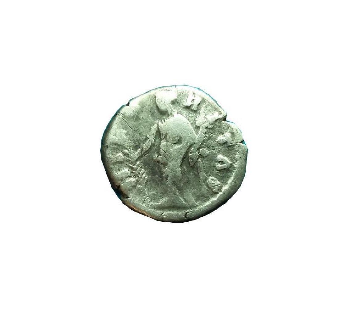 Ancient Roman Silver Coin Denarius Faustina Ii, - 2