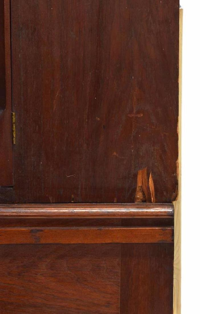 American Walnut Secretary Bookcase, 19th C. - 3