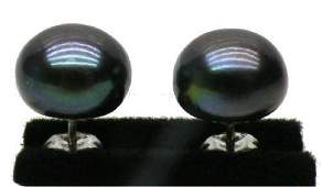Gorgeous 1014mm Blue Black Aaa  South Sea Pearl