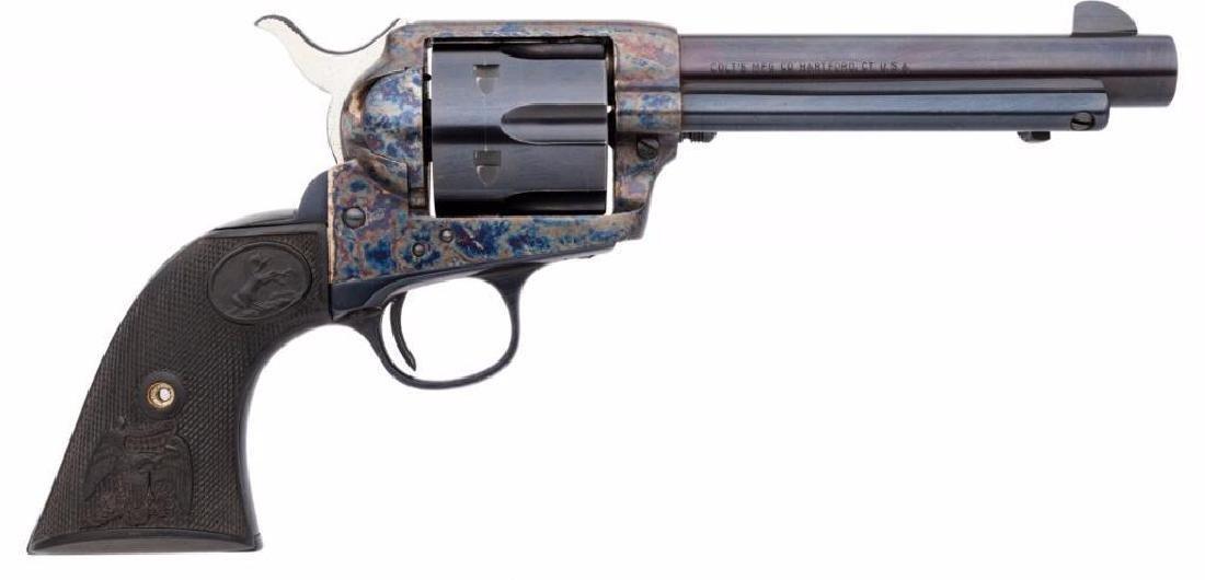 Colt Single Action Army Revolver. Serial no. 19
