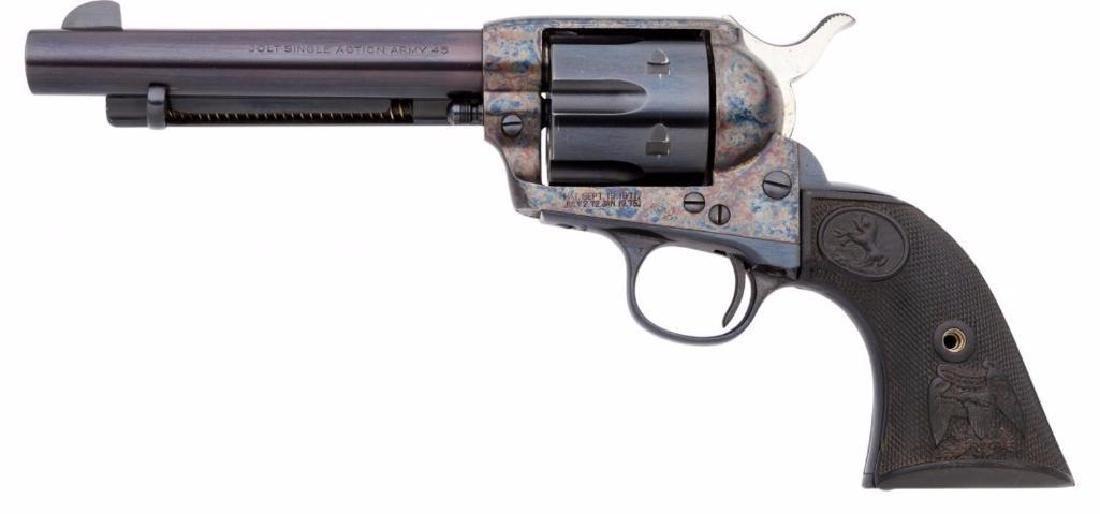 Colt Single Action Army Revolver. Serial no. 19 - 2