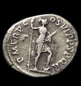 100 Original Ancient Roman Silver Coin Denarius Mars