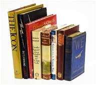 8v Vintage  Antique Collectible Estate Books Author