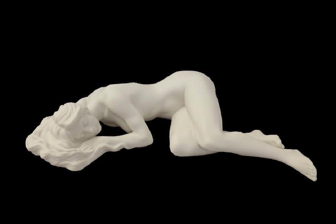 New Artistic Nude Statue Female Laying Down On Side