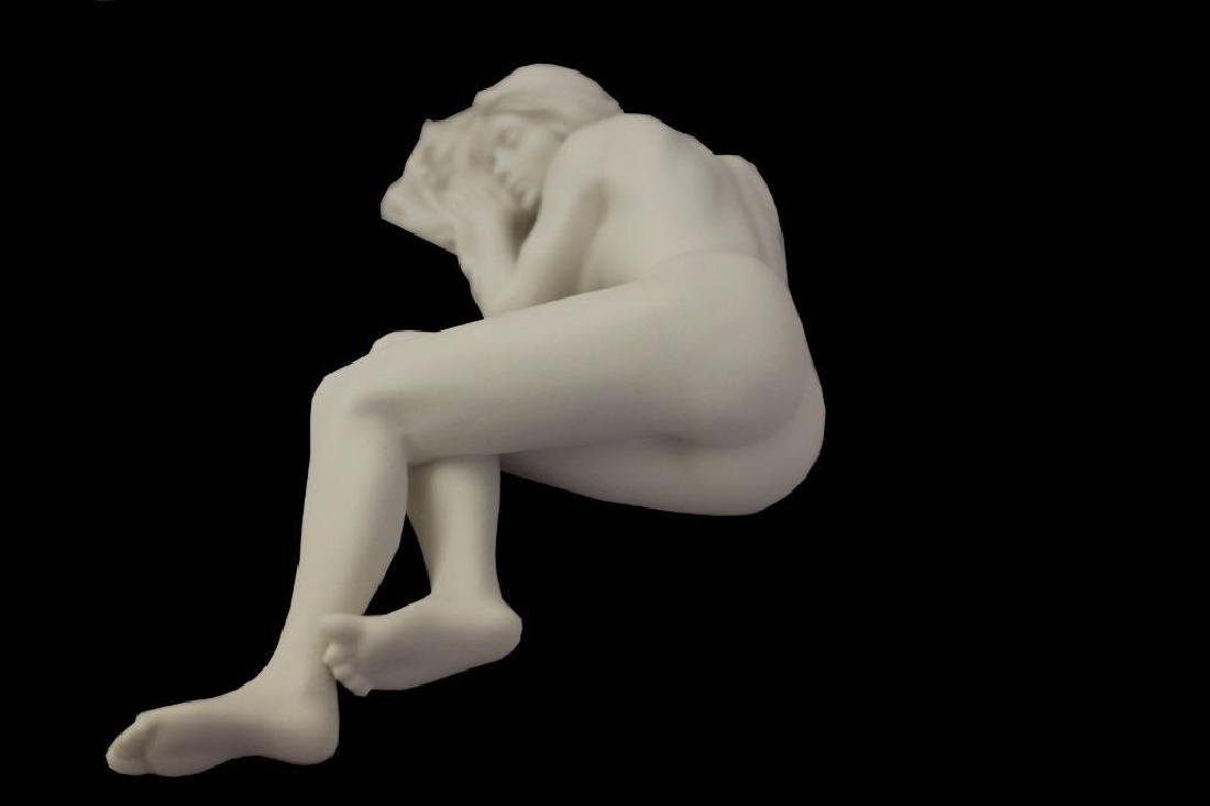 New Artistic Nude Statue Female Laying Down On Side - 5