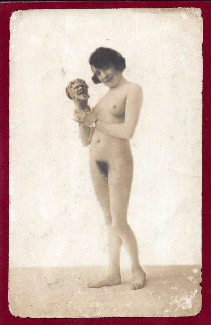 Original 1920's French Art Deco Nude Gelatin Silver