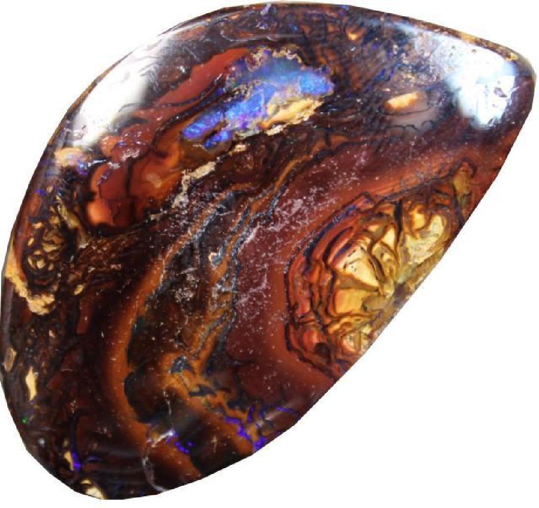 78.2 Cts Yowah Opal - Polished Stone - 3