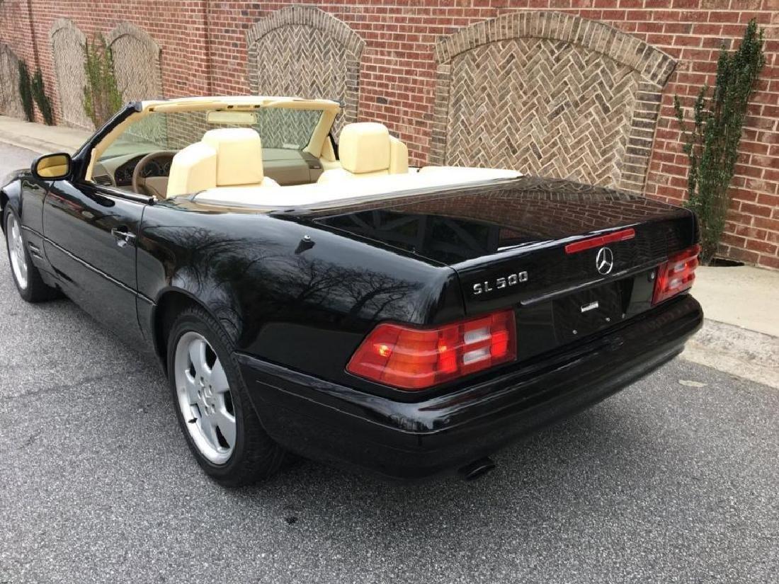 "Fabulous ""Minty"" 1999 Mercedes Benz SL500 Roadster - 5"