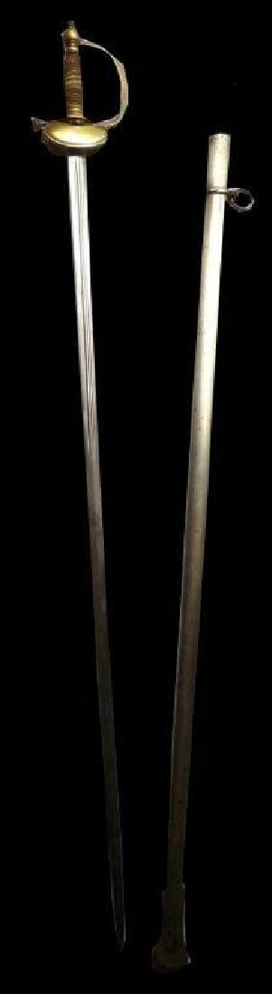 19thc French Cavalry Officer's Sabre - 2