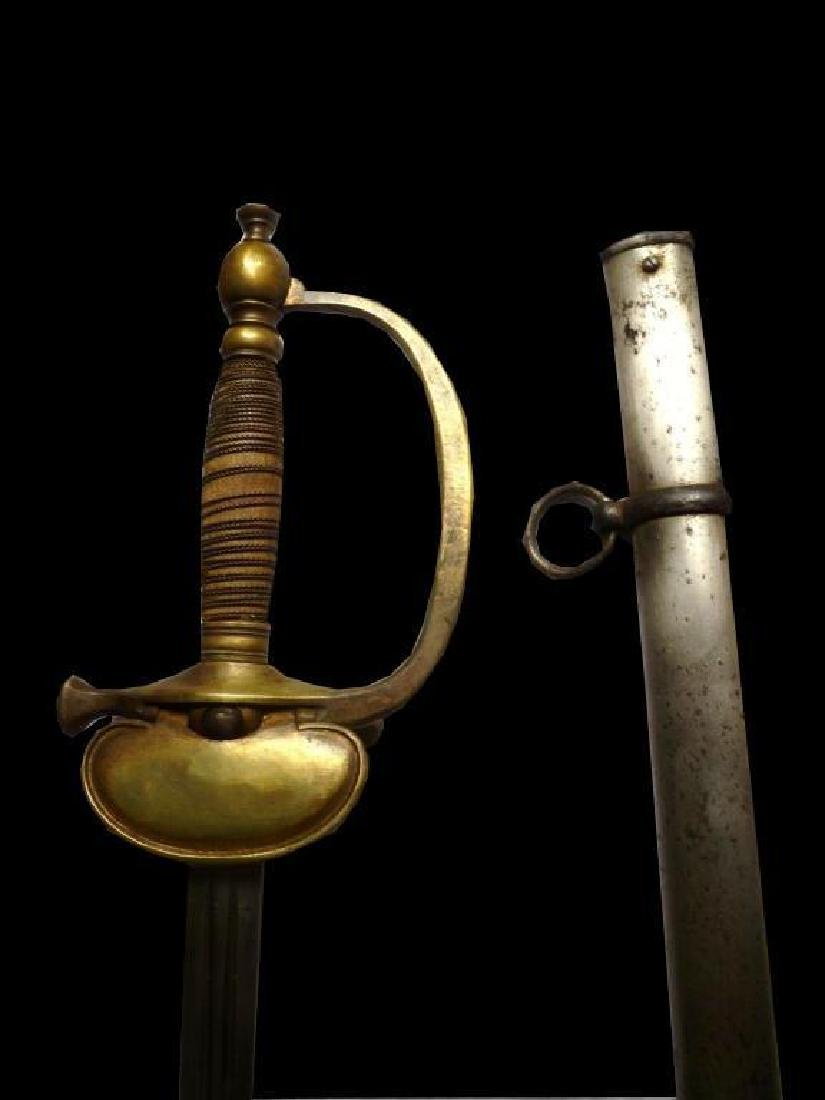 19thc French Cavalry Officer's Sabre - 4