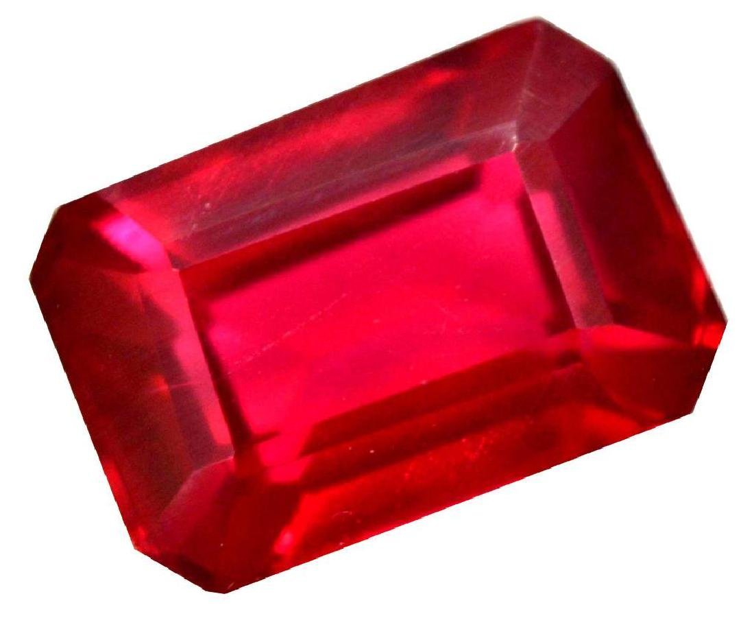 VVS 9.10 Ct Natural Mozambique Blood Red Ruby AGSL