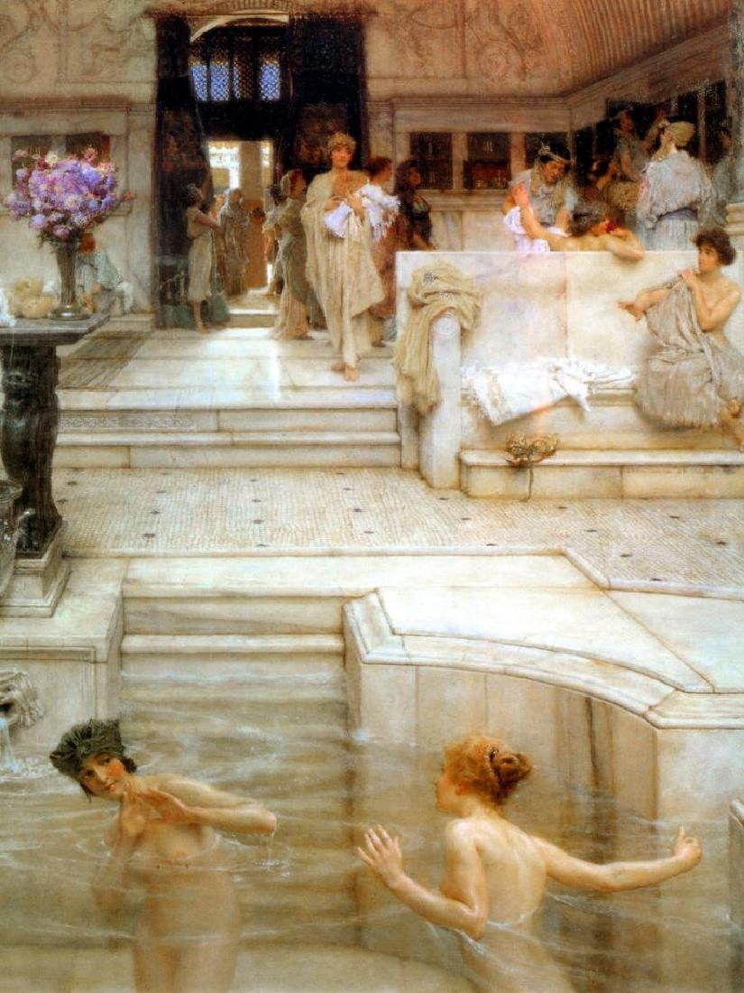 6 X 8 Art Alma- Tadema Favorite Custom Ceramic Mural