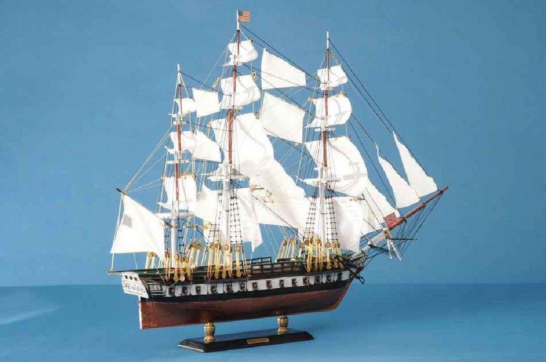 "USS Constitution Limited Tall Model Ship 20"" - 2"