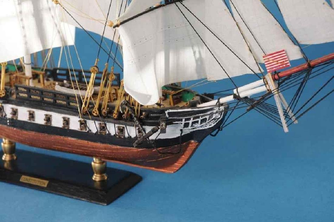 "USS Constitution Limited Tall Model Ship 20"" - 3"