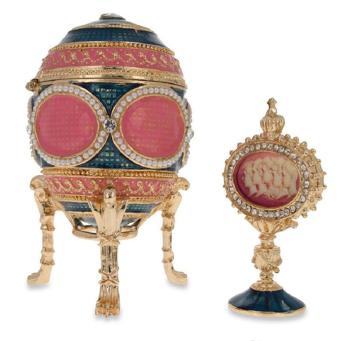 1914 Mosaic Faberge Egg - 2