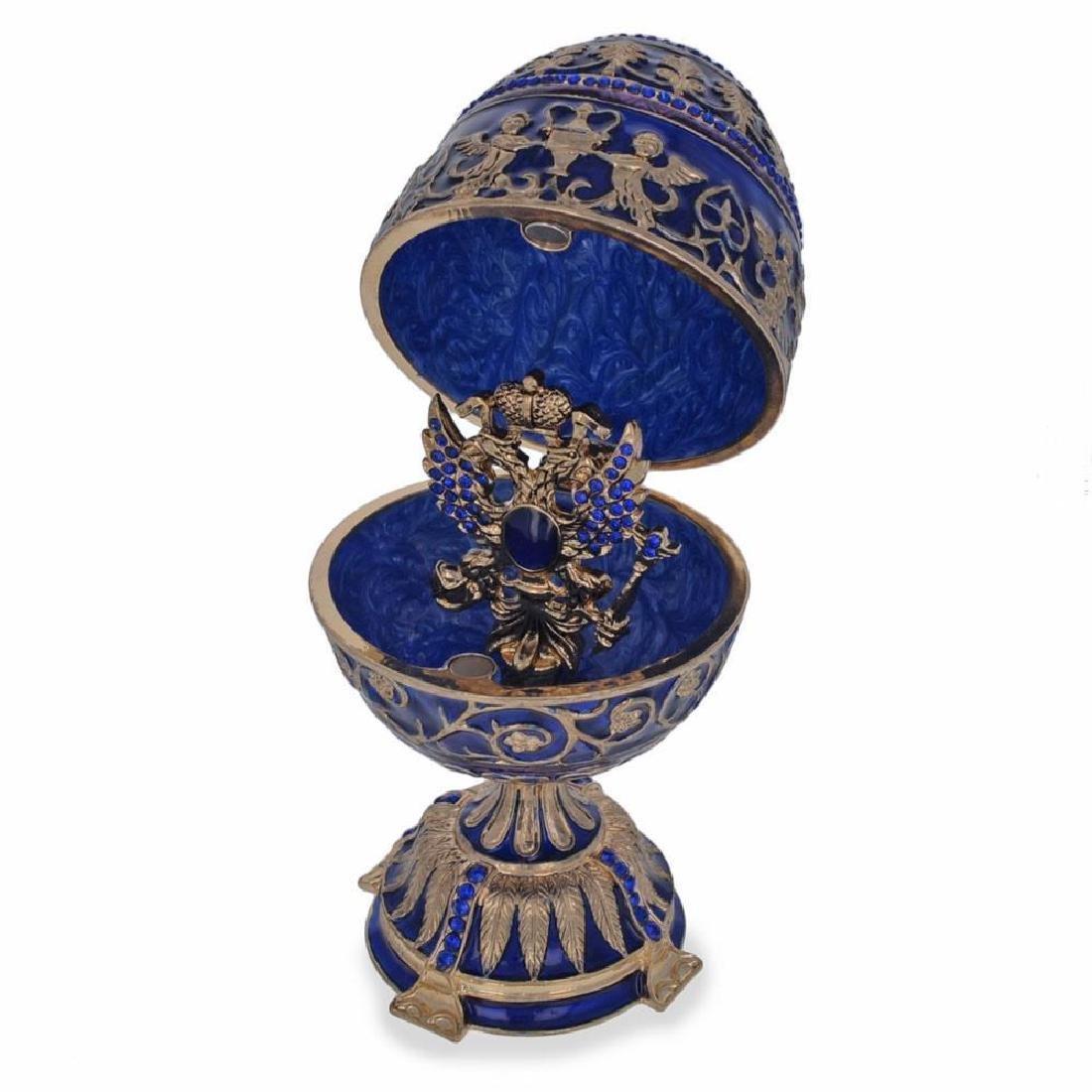 """1912 Tsarevich Faberge Egg 5.5"""" - 2"""