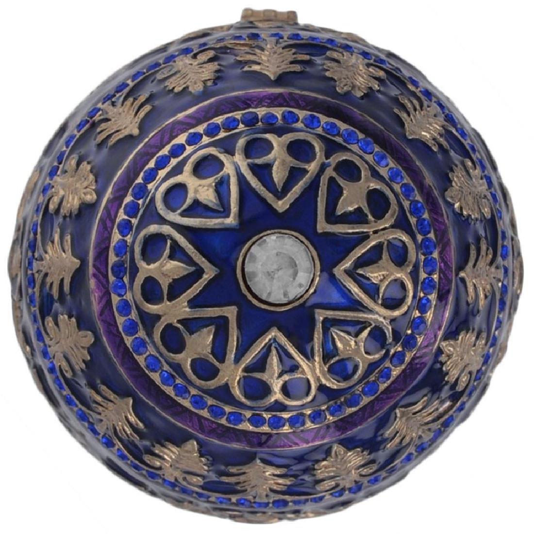 """1912 Tsarevich Faberge Egg 5.5"""" - 5"""
