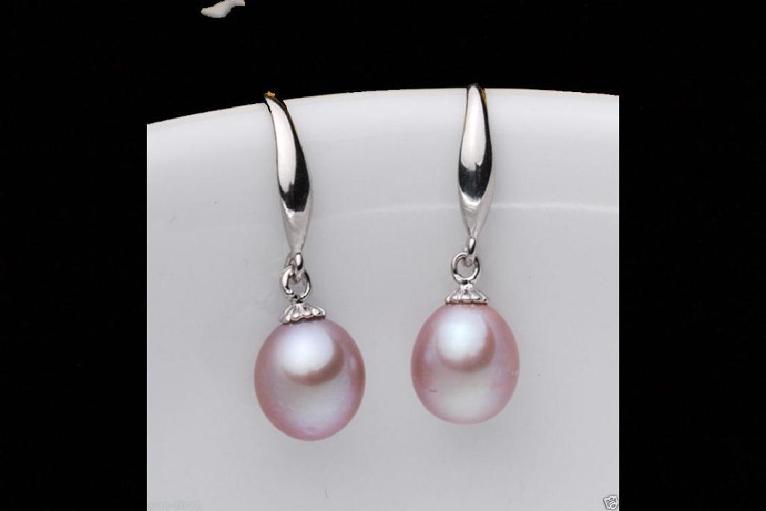 6-7mm Genuine Natural Purple Akoya Cultured Pearl