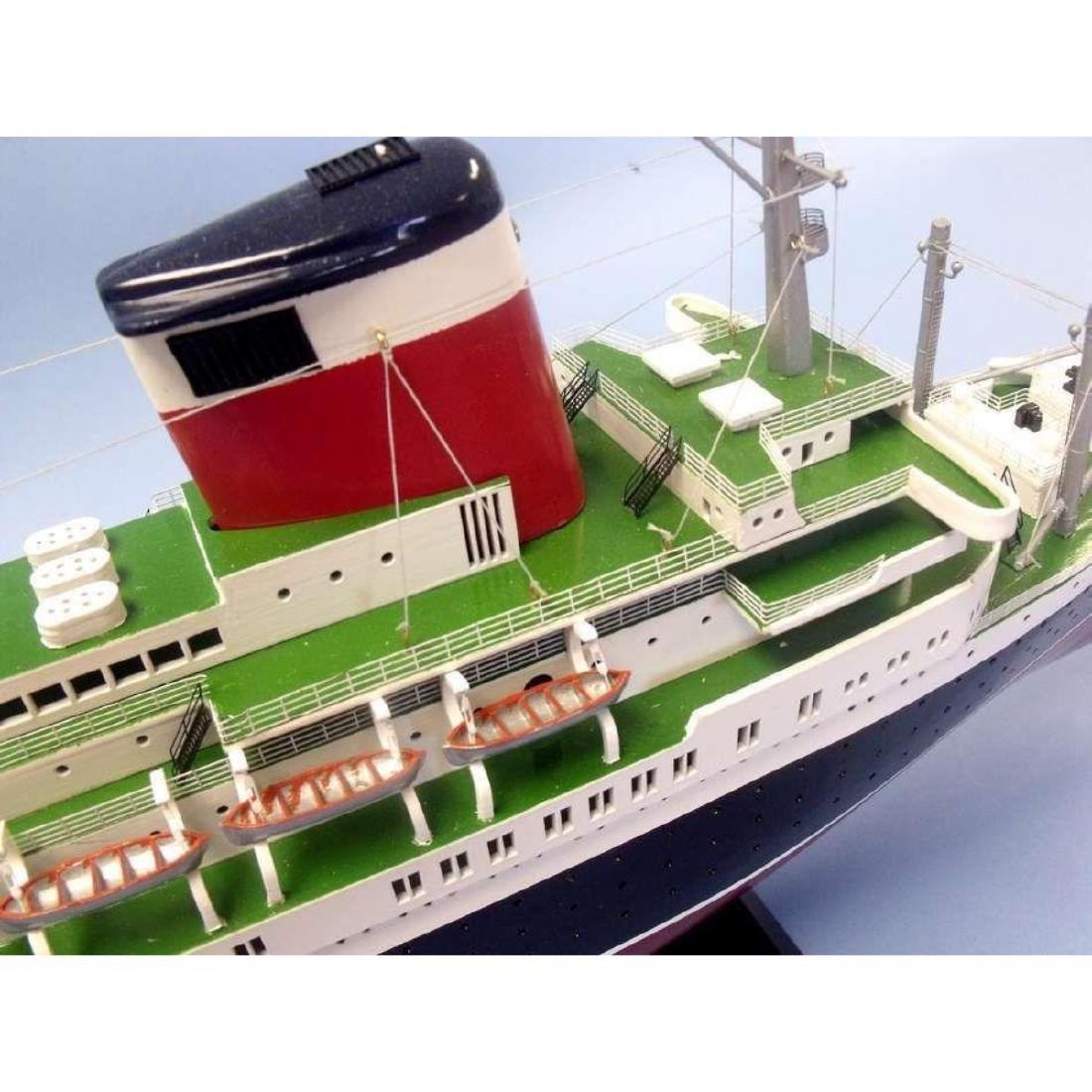 "SS United States Limited Model Cruise Ship 40"" w/ LED - 10"