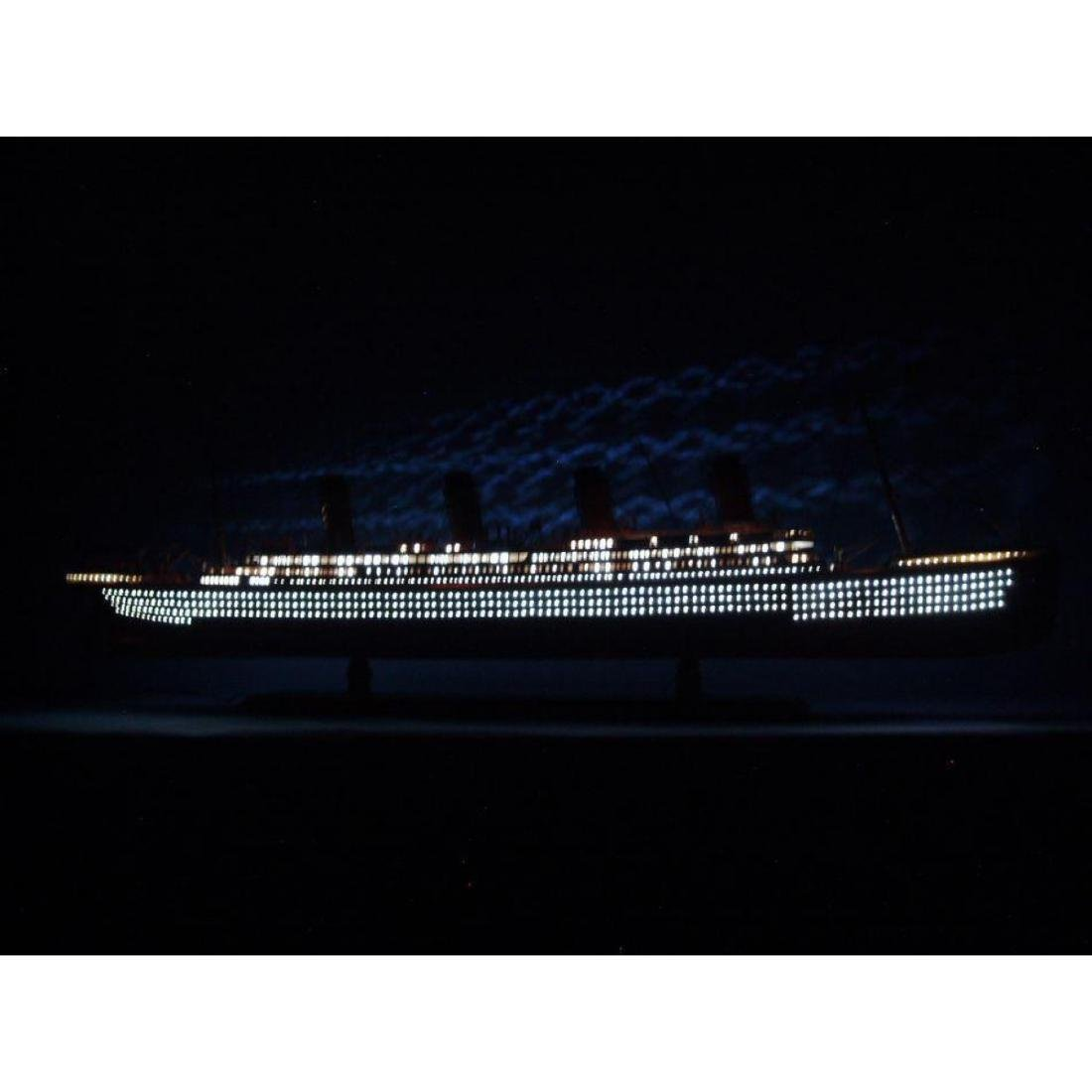 "SS United States Limited Model Cruise Ship 40"" w/ LED"