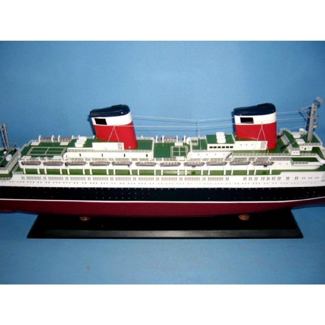 "SS United States Limited Model Cruise Ship 40"" w/ LED - 3"