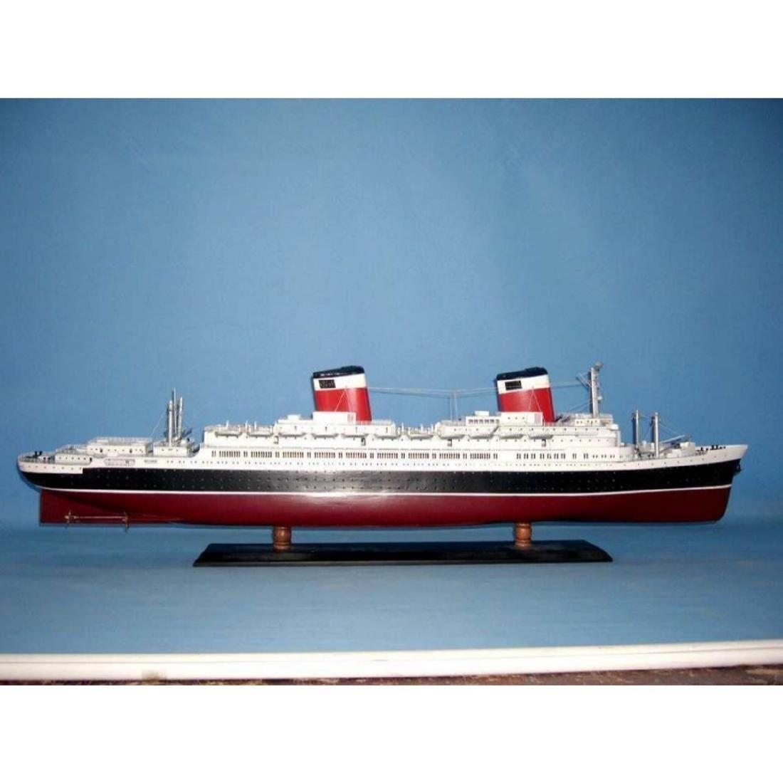 "SS United States Limited Model Cruise Ship 40"" w/ LED - 4"