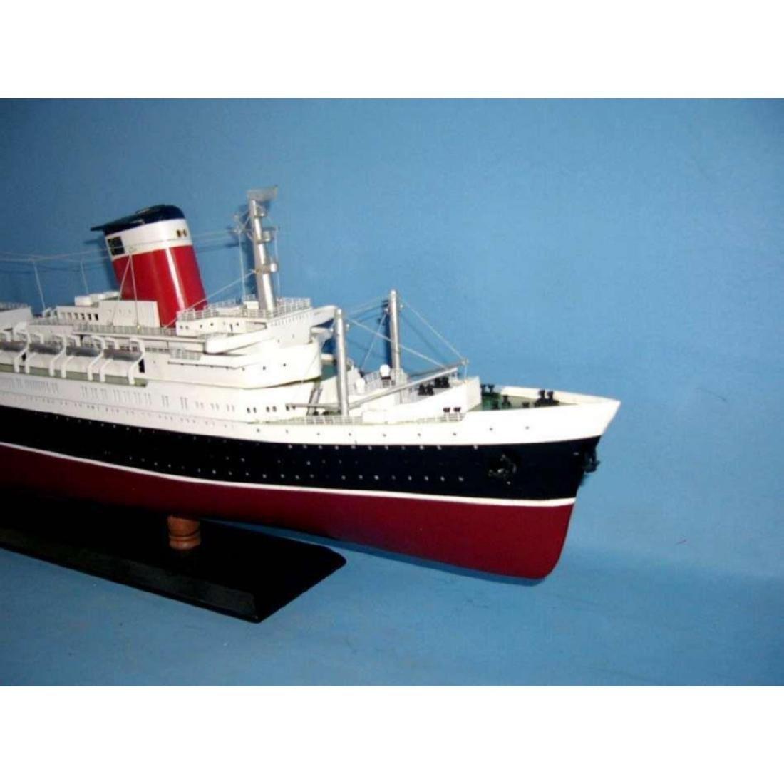"SS United States Limited Model Cruise Ship 40"" w/ LED - 5"
