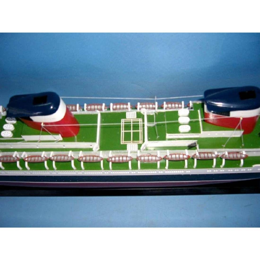 "SS United States Limited Model Cruise Ship 40"" w/ LED - 6"