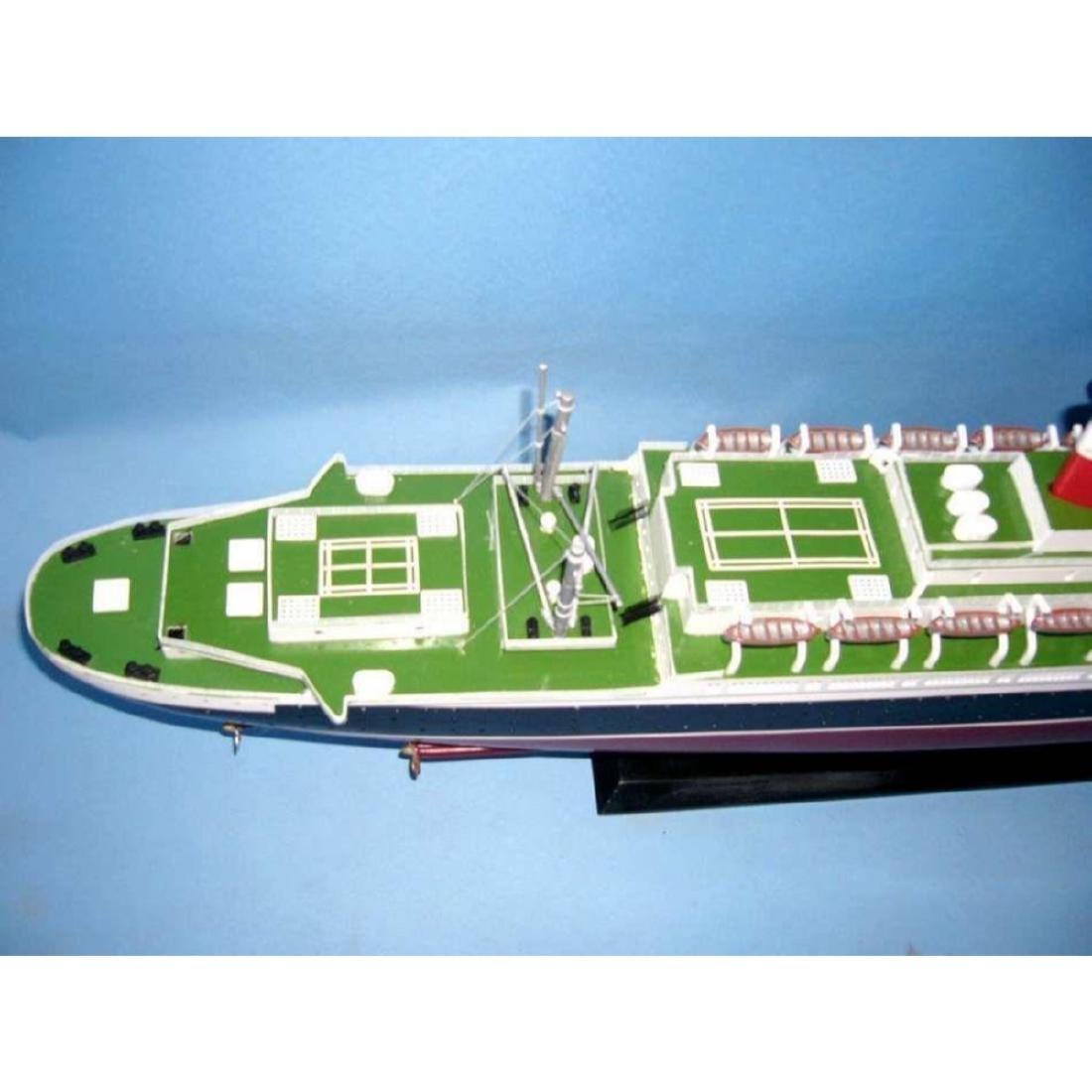 "SS United States Limited Model Cruise Ship 40"" w/ LED - 7"