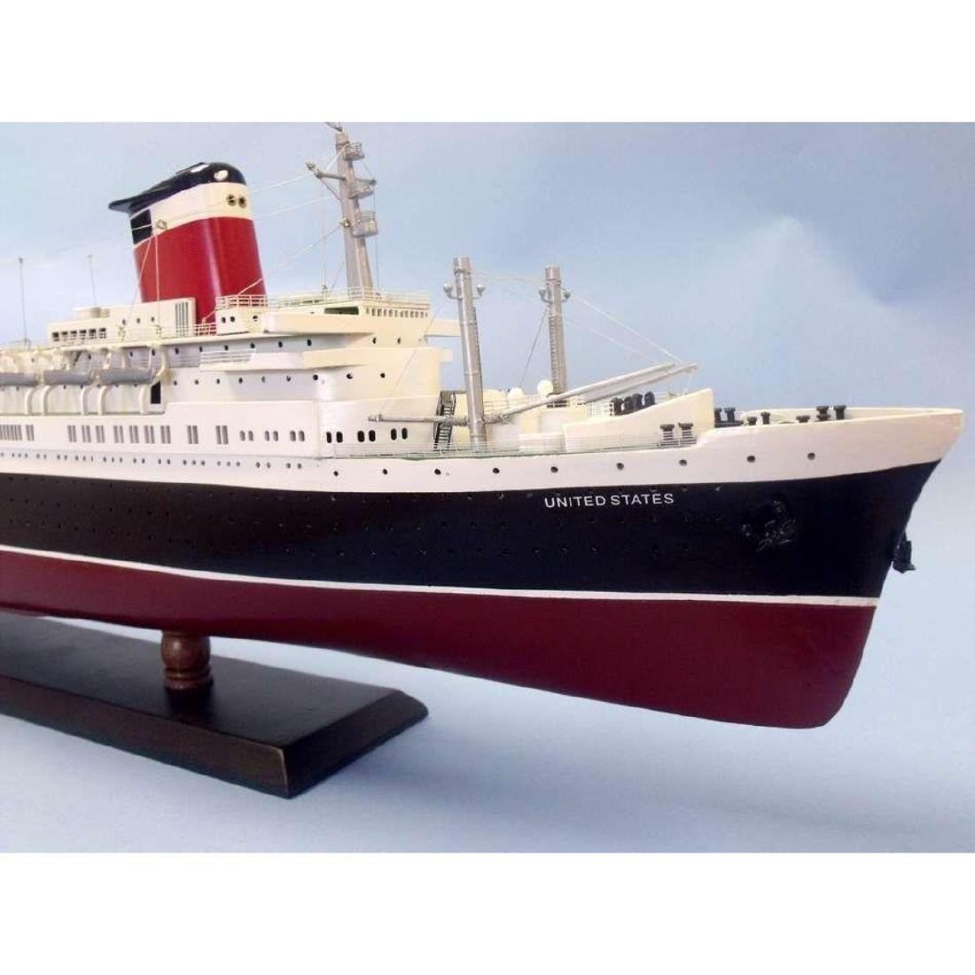 "SS United States Limited Model Cruise Ship 40"" w/ LED - 8"