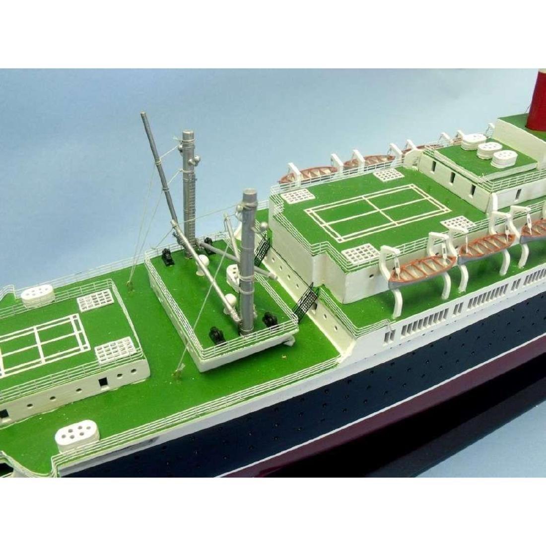 "SS United States Limited Model Cruise Ship 40"" w/ LED - 9"