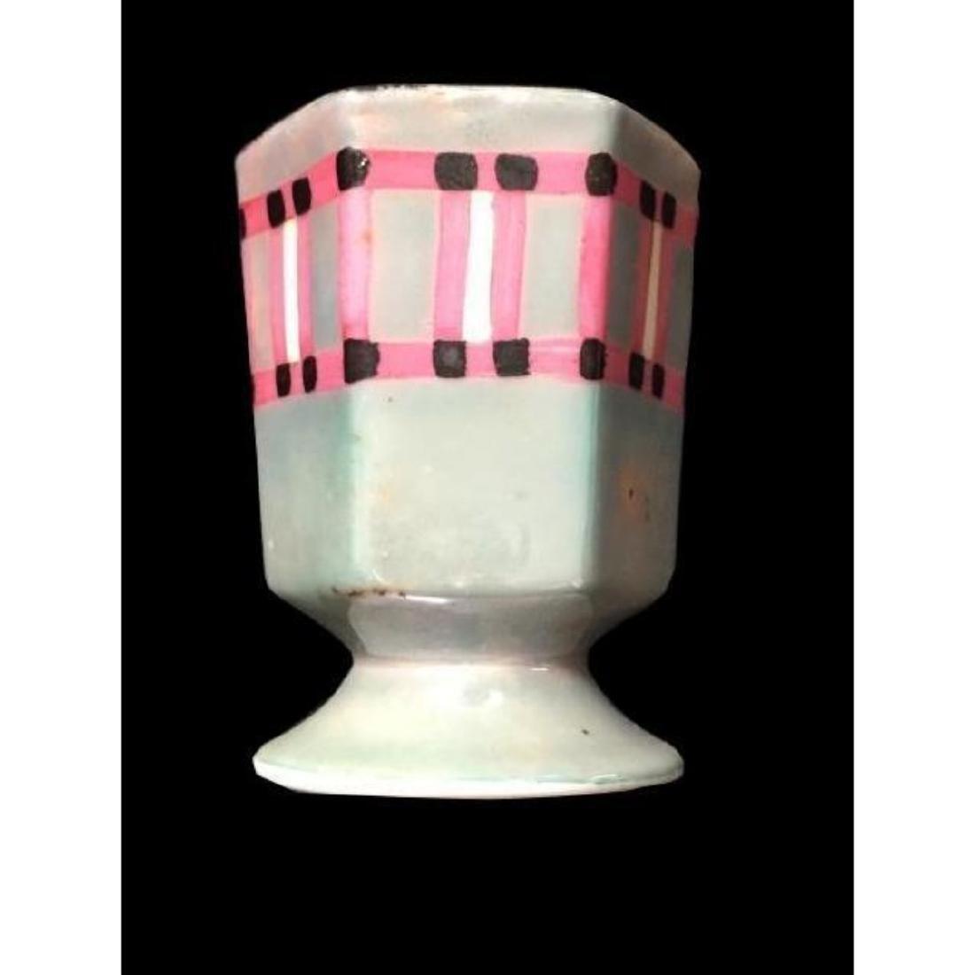 Noritake Art Deco Porcelain Toothpick Cup Vase