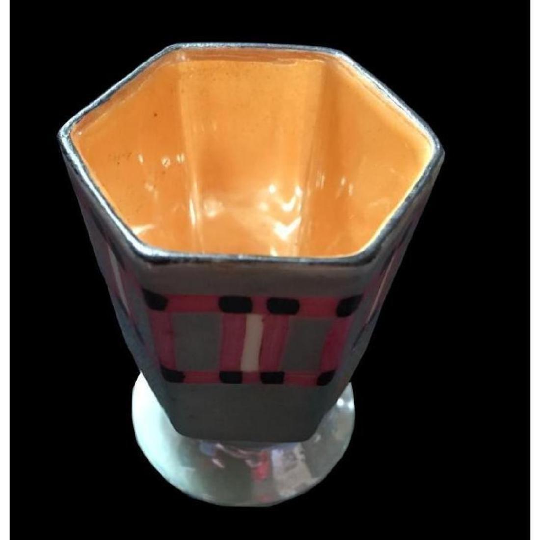Noritake Art Deco Porcelain Toothpick Cup Vase - 2