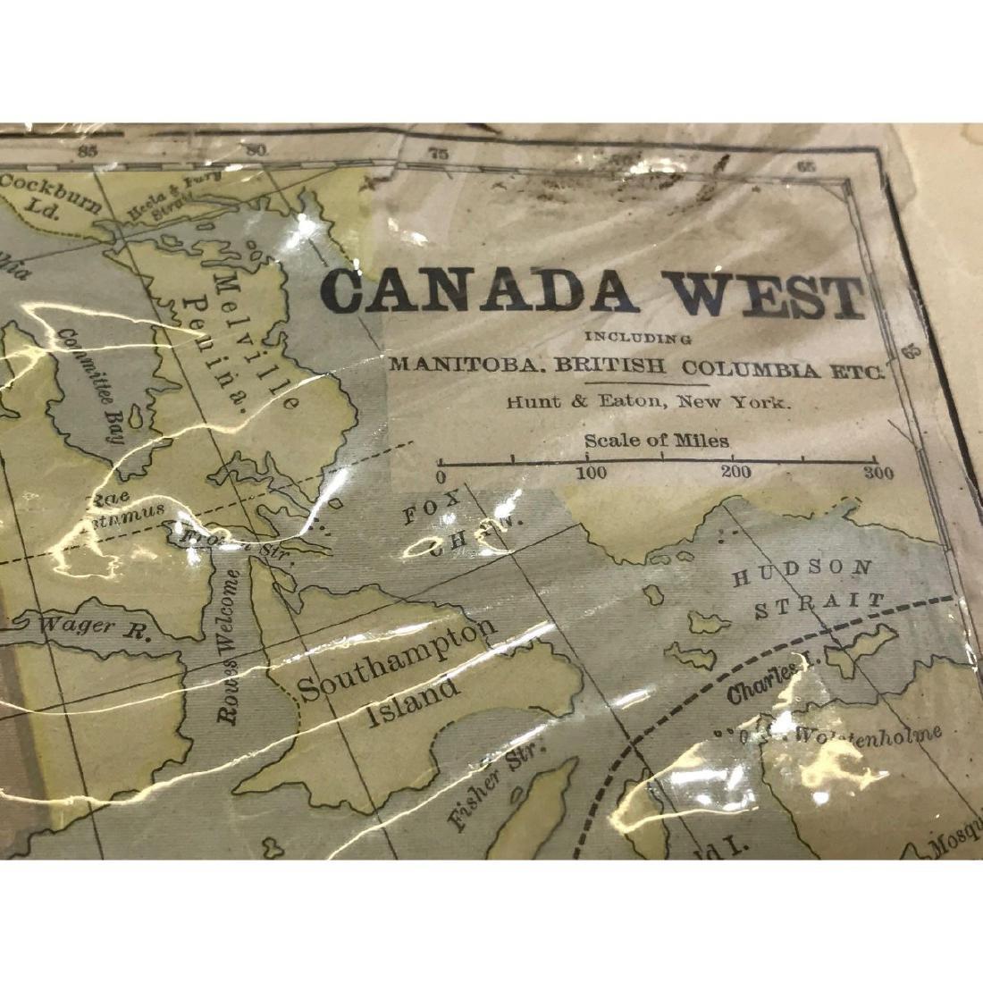 Western Canada Map - 2