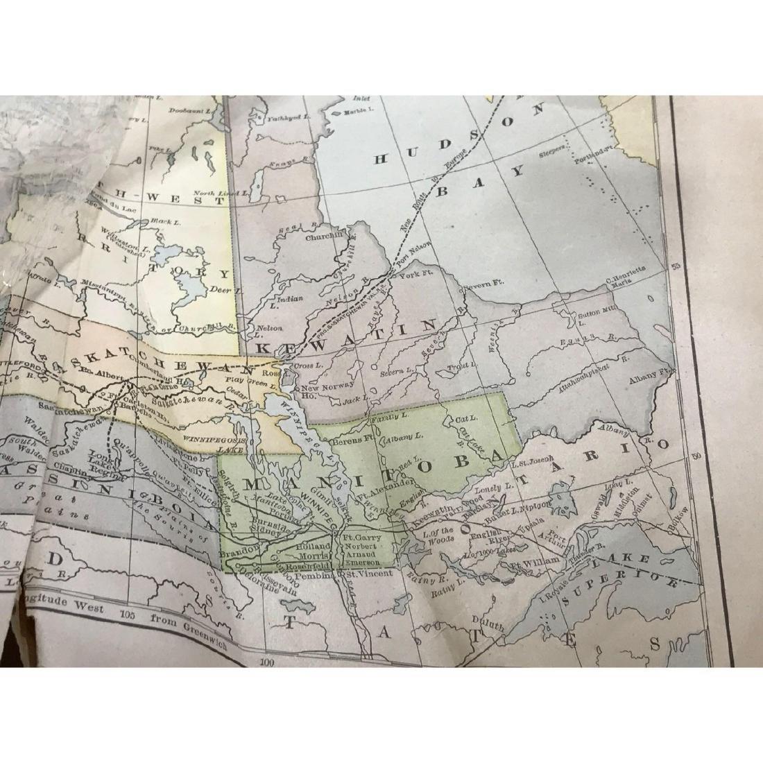 Western Canada Map - 3