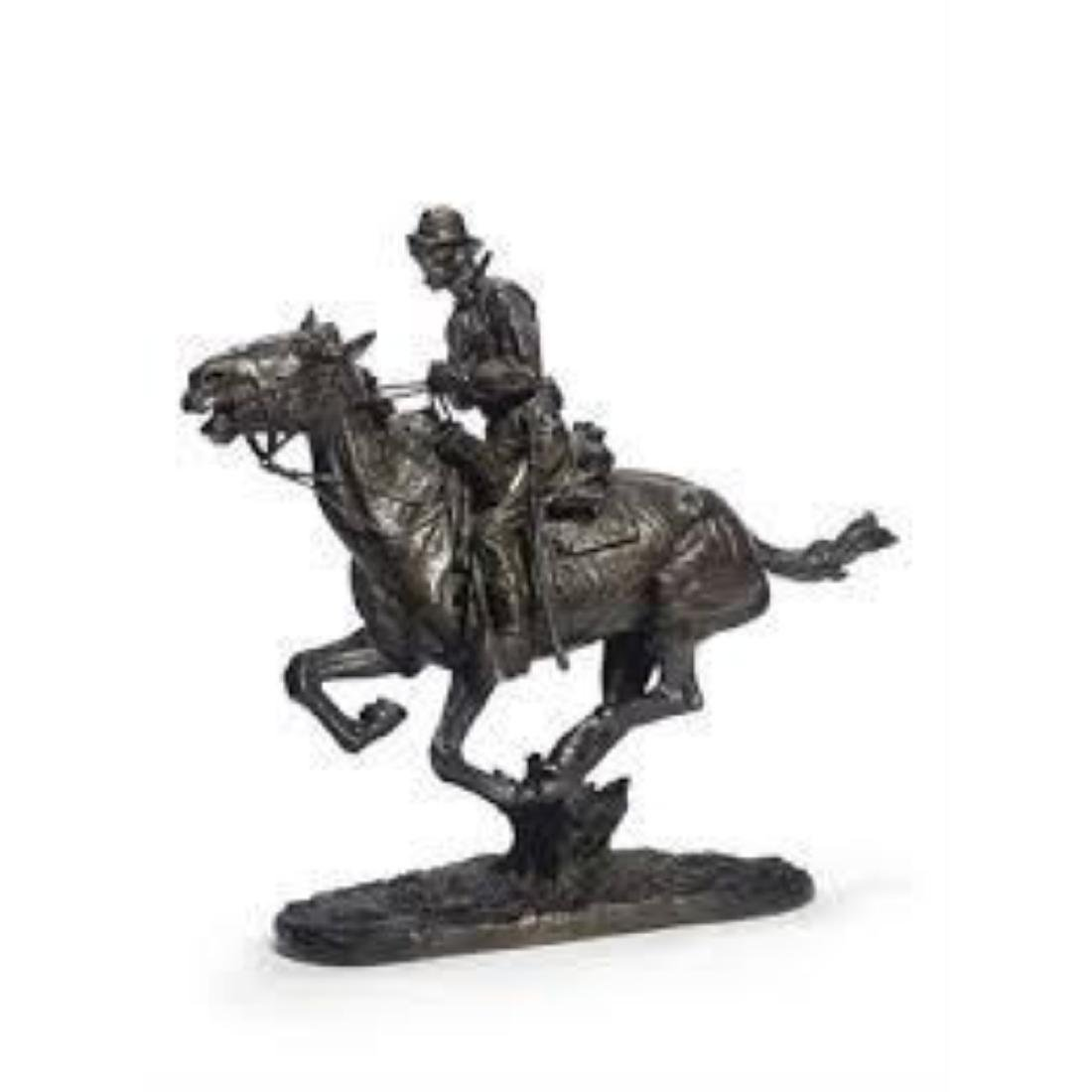 Trooper of the Plains By Frederic Remington - 2